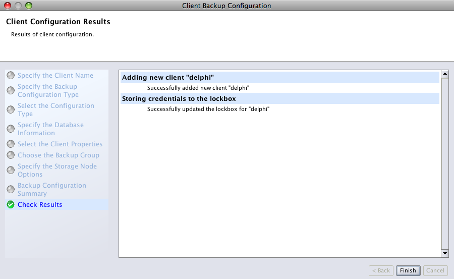 Oracle Client Configuration Step 9